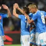 Napoli a forza 3: batte il Cagliari, terzo posto e Champions