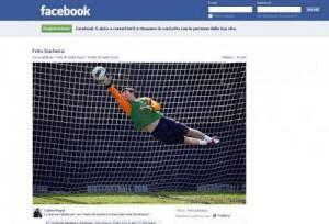 Lionel Messi su Facebook