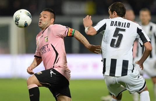 """Palermo-Juventus, Jugovic: """"Miccoli il leader dei rosanero"""""""