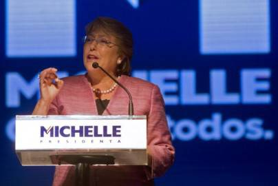 Michelle Bachelet (Getty images)