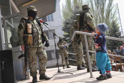 Miliziani filo russi (Getty images)
