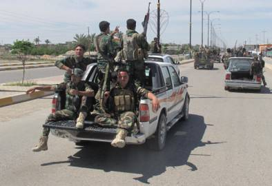 Polizia irachena (Getty images)