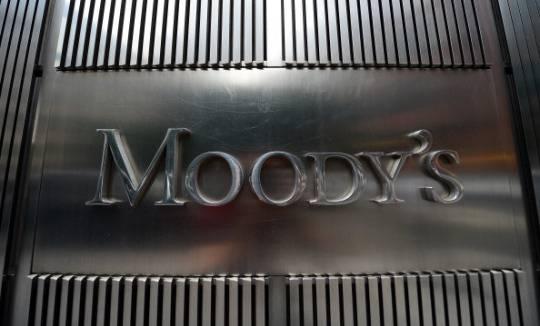 L'insegna di Moody's nella sede di New York (Foto: EMMANUEL DUNAND/AFP/GettyImages)