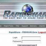 Megaupload chiuso e Dotcom resta in carcere…ora i film gratis si scaricano su Rapidshare