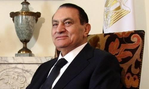 L'ex presidente egiziano Hosni Mubarak