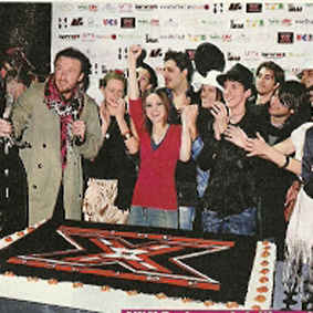X Factor 4, grande party per festeggiare la vincitrice Nathalie