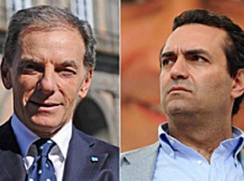 Ballottaggio Napoli 2011: incendiata sede elettorale Pdl, Gianni Lettieri attacca Luigi De Magistris