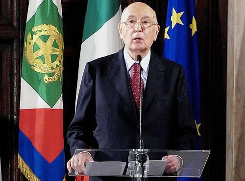 Incontri capo di stato Ue: Napolitano invita a superare i nazionalismi