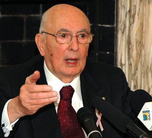 Napolitano: la politica non è una cosa sporca, Mezzogiorno importante per lo sviluppo economico nazionale
