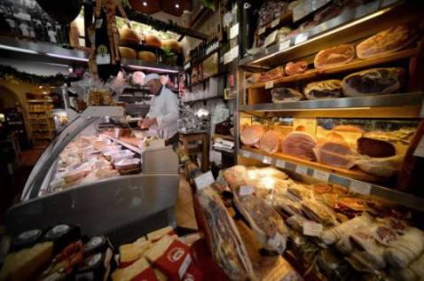 Negozio di alimentari (FILIPPO MONTEFORTE/AFP/Getty Images)