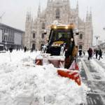 Neve Nord Italia: video di Milano, Bologna e Torino innevate