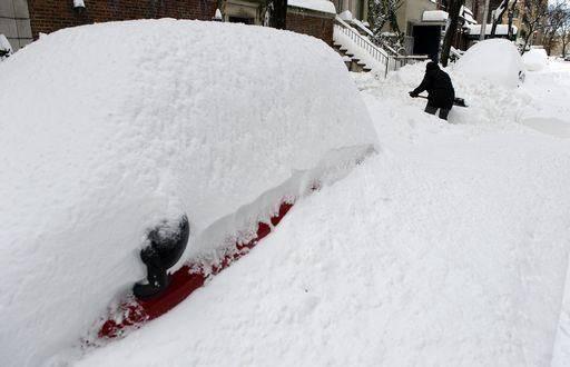 Usa: a Chicago tempesta di neve da record