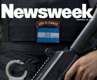 Nuova copertina cartacea di Newsweek (screen shot hompage del settimanale)