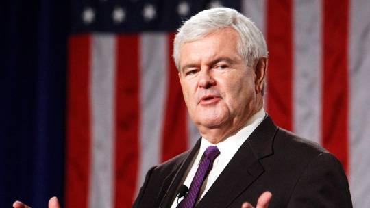 newt gingrich Primarie repubblicane Usa: Newt Gingrich continua la corsa, ma per mancanza di fondi licenzia membri del suo staff