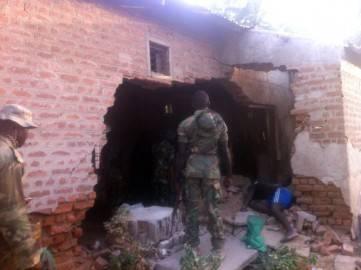 Soldato nigeriano sul luogo di un attentato  (Getty images)