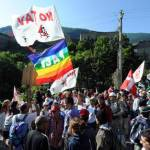 No Tav: manifestanti si disperdono nei boschi, polizia lancia lacrimogeni