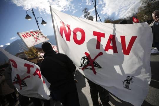 Roma, No Tav: denunciati una decina di manifestanti
