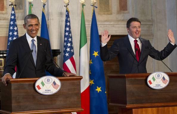 """Incontro bilaterale Usa-Italia, Obama: """"Sono rimasto impressionato dall'energia di Matteo"""""""