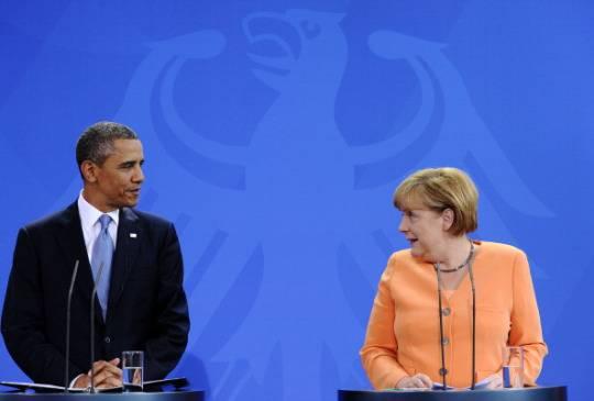 Ucraina, colloquio tra Obama, Merkel e Hollande: accolto positivamente il cessate il fuoco