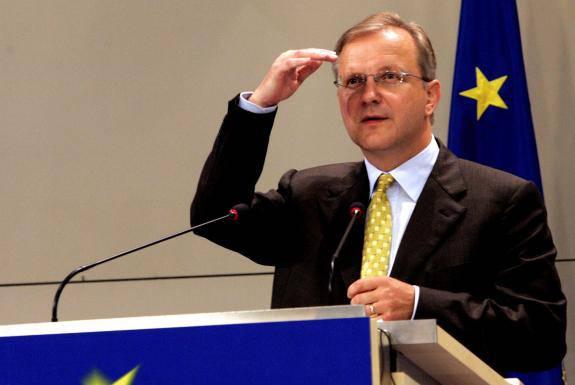 Governo Monti, Olli Rehn: per la Commissione europea conta il programma, non la composizione