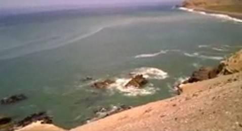 Oceano Pacifico (scfeen shot youtube)