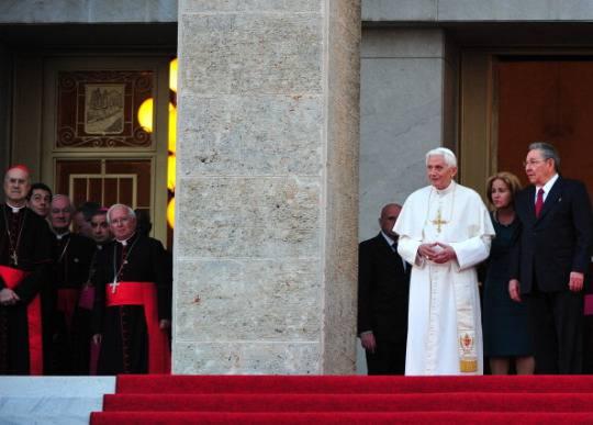 papa benedetto xvi cuba Visita del Papa a Cuba: oggi latteso incontro tra Benedetto XVI e Fidel Castro