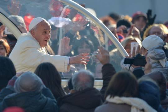 """Papa Francesco: """"Non abbiate timore del giudizio finale: Gesù non ci lascia soli"""""""