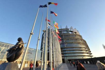 Il palazzo del Parlamento Europeo a Strasburgo (Getty Images)