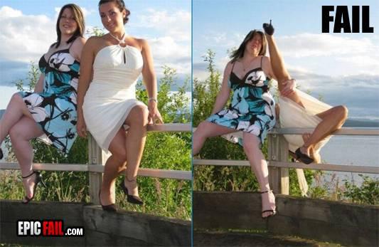 Incredibile: belle ragazze si mettono in posa ma poi…