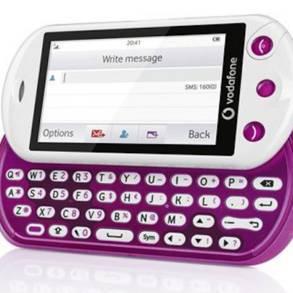 VODAFONE 553 / Slide Phone, in uscita il nuovo smartphone per social network a tastiera QWERTY