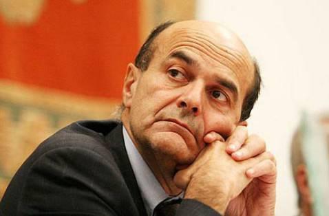 Pier Luigi Bersani, segretario Pd
