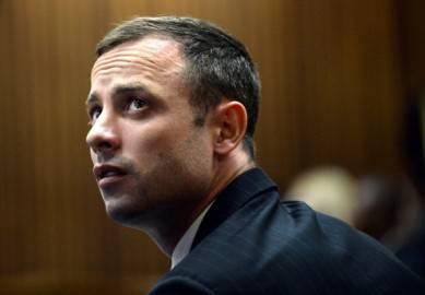Pistorius in tribunale (Antoine de Ras/AFP/Getty Images)