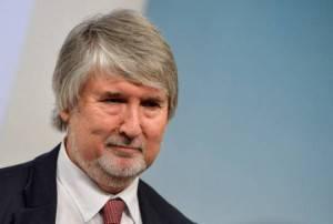 Il Ministro del Lavoro Giuliano Poletti (ANDREAS SOLARO/AFP/Getty Images)