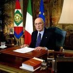 Napolitano invita alla coesione nazionale