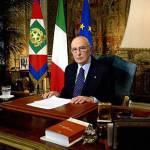 Governo, Napolitano: questi sono giorni complessi e impegnativi