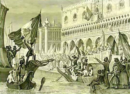 Ricorrenze del giorno: La proclamazione della Repubblica di San Marco (22 marzo 1848)