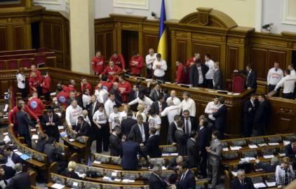 Ucraina non firma accordo associazione con ue proteste in for Deputati parlamento