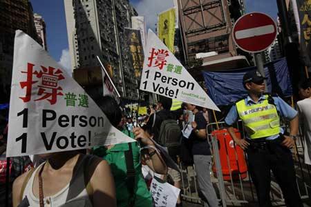 Hong Kong: proteste contro il governo cinese, in 200 finiscono in cella