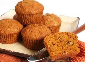 Cucina: Muffin di zucca e noci per Halloween