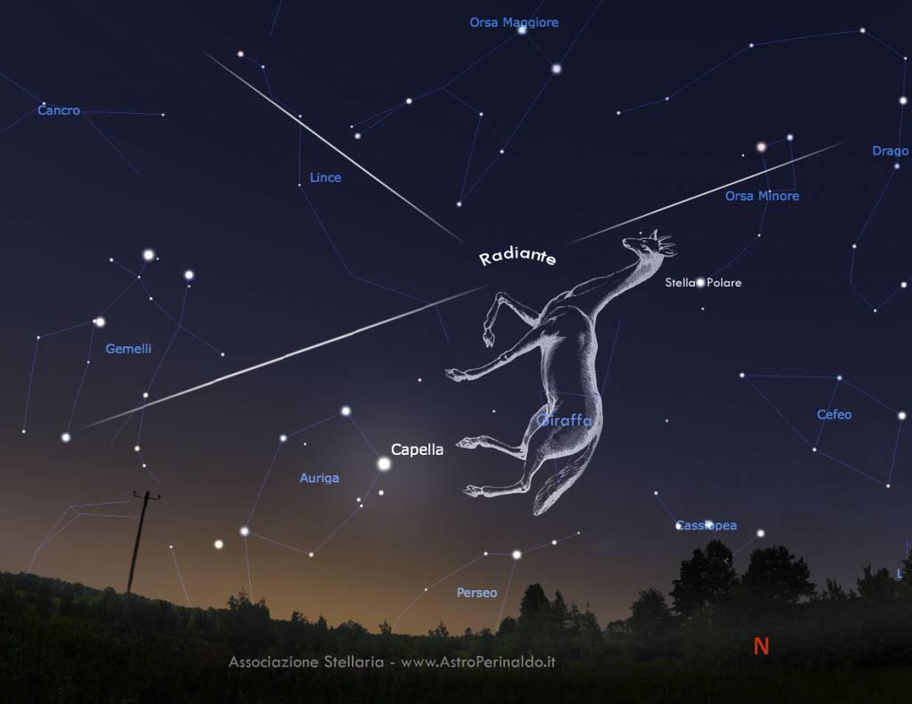 Uno sciame di stelle cadenti attraverserà i nostri cieli. Ecco quando e come vederle