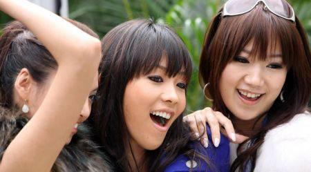ragazze belle giapponesi