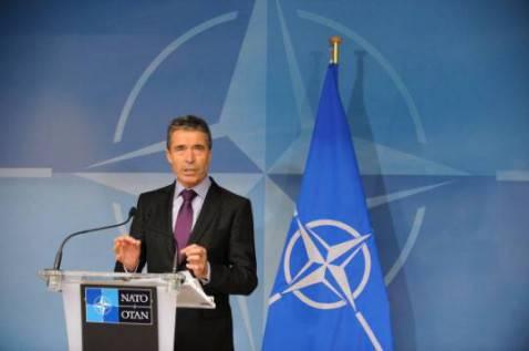 Il Segretario Generale della Nato Anders Fogh Rasmussen (JOHN THYS/AFP/Getty Images)