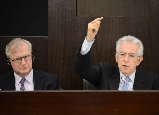 L'ira di Monti e della Ue per il declassamento di Moody's