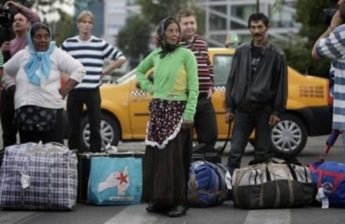 Francia, rom sgomberati dal campo nomadi di Lione