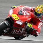 Valentino Rossi Ducati: alla ricerca del set-up sul circuito del Sachsenring