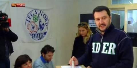 Matteo Salvini (screenshot skytv)