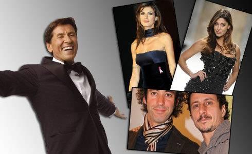 Sanremo 2011: Gianni Morandi ha voluto fortemente Elisabetta Canalis e Belen Rodriguez