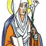 santadele pfalzel 150x150 Santo di oggi   5 marzo 2011: festa di S. Adriano di Cesarea