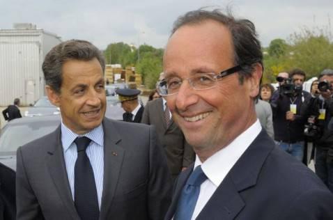 "sarkozy hollande 478x316 Presidenziali 2012: Hollande risponde a Sarkozy e parla delle ""60 promesse per la Francia"""