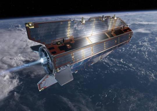 Caduta del satellite Goce: disintegrato nell'impatto con atmosfera